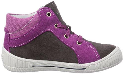 Superfit  COOLY, Chaussures premiers pas pour bébé (fille) Gris - Grau (STONE MULTI 07)