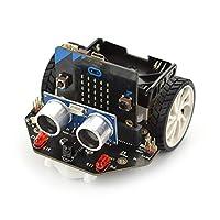DFRobot Maqueen Micro:bit Robot Platform - Graphical Programming Educational Robotic Car for Kids - STEM Learning DIY Mini Robot Kit for Maker Education