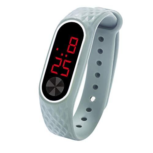 orologio uomo Orologio da polso con display digitale a LED Orologio da bambino per studenti con gel di silice