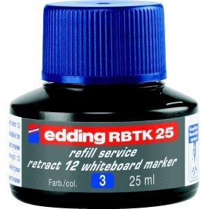 Preisvergleich Produktbild Edding Nachfülltusche edding RBTK 25 refill service retract 12 25ml blau