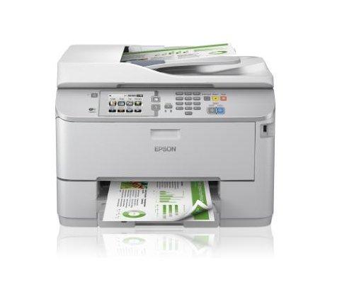 Epson WF-5620DWF Stampante Ink-Jet, Sistema di Stampa Ink-Jet/Micro Piezo/Pentacromia/0 nr, Formati di Stampa Supportati A4