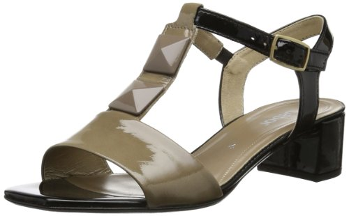 Gabor Beige Shoes 85 schwarz Damen taupe 94 Sandalen 601 1xZAn1SHqw