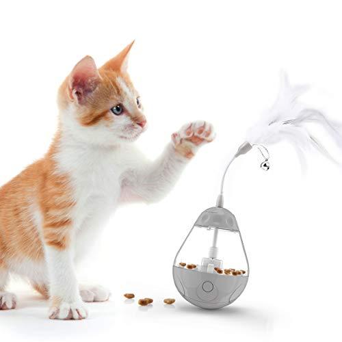 DADYPET Juguetes para Gatos Interactivos de Plumas