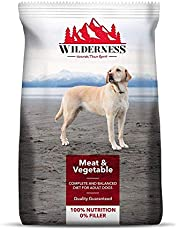 Wilderness Adult Dog Food Meat & Vegetables, 10 kg Pack