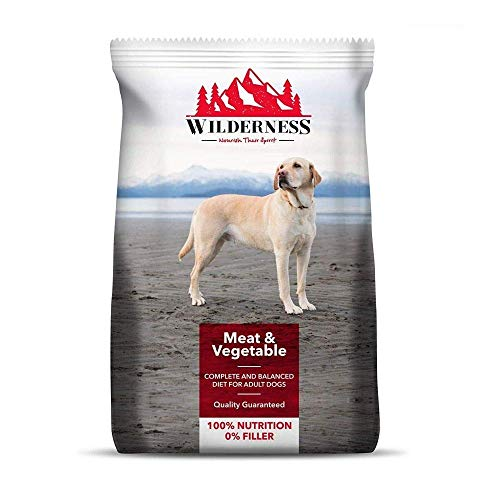 Wilderness Adult Dry Dog Food, Meat and Vegetable - 10 kg Pack