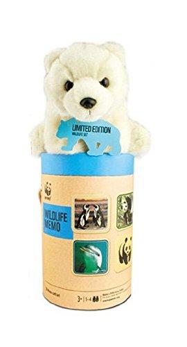 WWF - Juego mesa - Set Juego memoria felpa oso polar