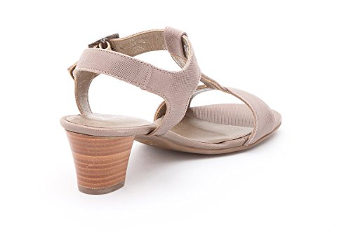 MEPHISTO DIANA - Sandales / Nu-pieds - Femme Taupe