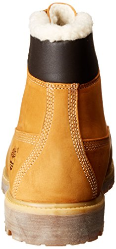 Timberland 6 in fur Warm Wheat Nubuck Warm Lined CA13GA, Boots Jaune