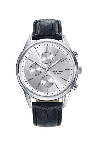 Viceroy Hommes Chronographe Quartz Montre avec Bracelet en Cuir 401121-07