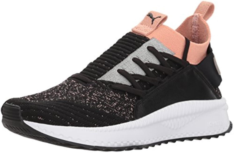 Puma Frauen Tsugi Jun Schuhe 37.5 EU Black/Peach Beige White