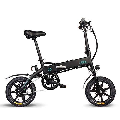 ULTREY E-Bike Klapprad 14 Zoll Elektrofahrrad klappfahrrad 36V 7.8/10.4Ah Lithium-Batterie, Leicht und Praktisch