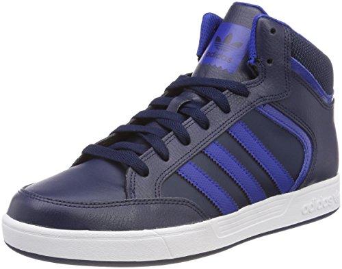 Adidas varial mid, scarpe da skateboard uomo, blu conavy/croyal/ftwwht, 42 eu
