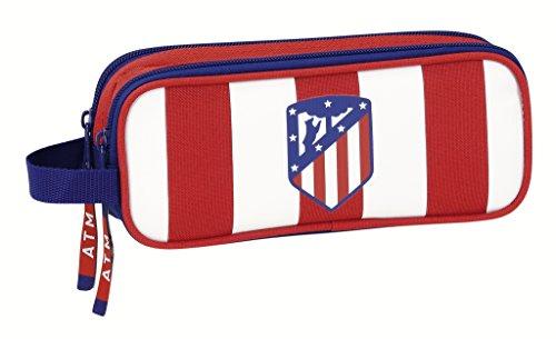 Atletico De Madrid – Estuche portatodo doble de atletico de madrid (Safta 811758513)