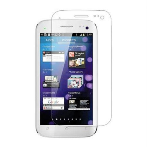 Generic Micromax Canvas Fire A104 Mobile Screen Protector Clear Screen Guard
