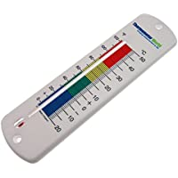Large 240mm Wall Thermometer Garden Greenhouse Home Office Room Use Indoor or Outdoor **UK Made - Two Year Warranty**