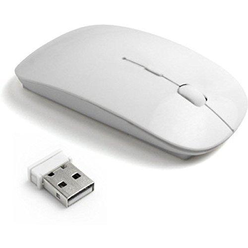 Terabyte TB MW 023 Ultra Slim Wireless Mouse  White  Mice