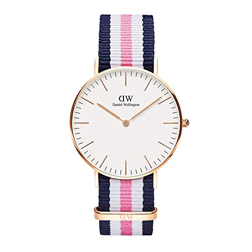 Daniel Wellington Damen Analog Japanese Quartz Uhr mit Natoband Armband DW00100034