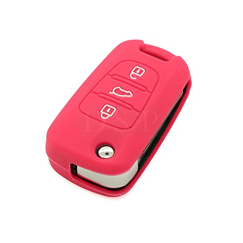 fassport-silicone-cover-skin-jacket-fit-for-hyundai-3-button-flip-remote-key-cv3101-rose
