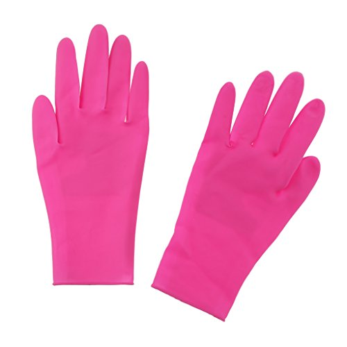 D DOLITY Profi. Hitzebeständige Handschuhe Hitzeschutzhandschuh Schutzhandschuhe für Kochen Backen Grill Salon (Profi-lockenstab Besten)