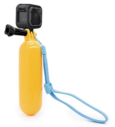 MyGadget Impugnatura Galleggiante Waterproof per Action Camera - Hand Grip Immersione Subacquatica - Selfie Stick per p.e. GoPro Hero 6 5 4 3+ 3 2 1