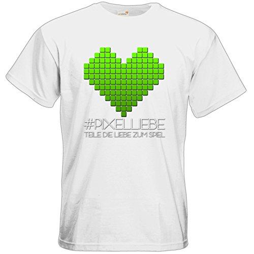 getshirts - The Pixel-Heroes Lootbox - T-Shirt - Motiv 2 White