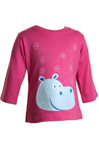 Girls Hippo 3/4 Sleeve Top