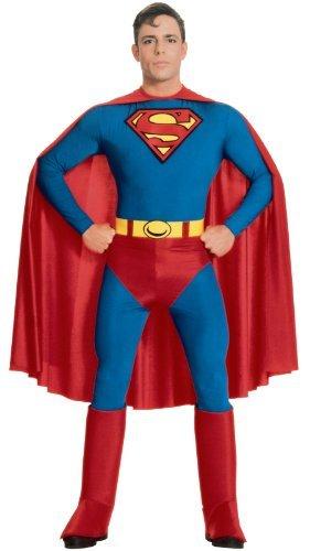 Cape Kostüm Superman (Superman Kostüm für Erwachsene - M (Gr.)