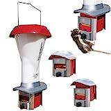 PestOff Kit alimentatore per polli a prova di ratti – Alimentatore per pollame a prova di ratti e grandi uccelli – resistente alle intemperie – capacità 4 litri – NUOVISSIMO