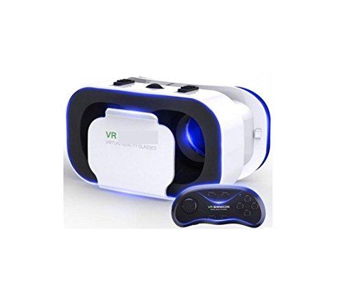 Nola Sang 3D VR Virtual Reality Headset 3D Gläser VR für Smartphones Filme und Spiele Immersive 3D...