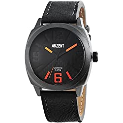 Akzent Herren-Armbanduhr Analog Quarz verschiedene Materialien SS7571100011