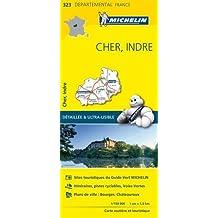 Carte Cher, Indre Michelin
