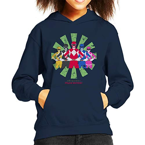 Power Rangers Retro Japanese Kid's Hooded Sweatshirt