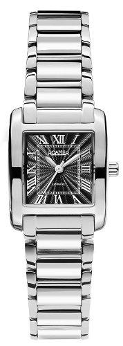 Roamer 507845 41 53 50 - Reloj analógico de cuarzo para mujer, correa de acero inoxidable color plateado