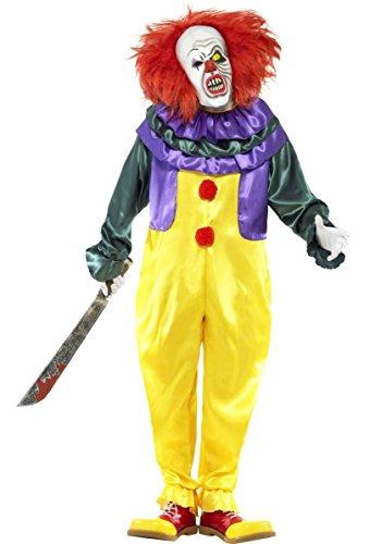 r Clown Halloween Film TV Fancy Kleid Kostüm Outfit M-XL ()