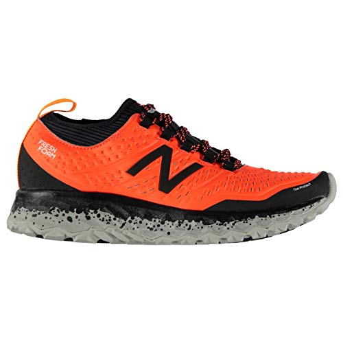 New Balance Hierro V3 Orange Black – Chaussure Trail Running Orange, 44 EU EU