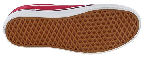Vans MILTON, Low-Top Sneaker uomo Rosso (Rot ((Vintage) red/o FPM))