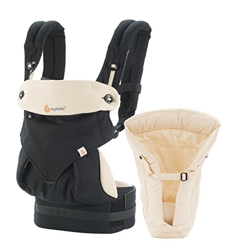 Ergobaby-Four-Position-360-Bundle-of-Joy-Baby-Carrier-with-Infant-Insert