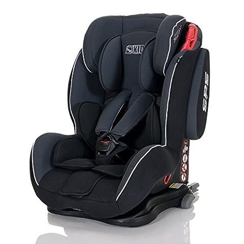 LCP Kids 33 Autokindersitz Saturn I-Fix - Gruppe I,II und III 9-36 kg, ECE R44/04 zertifiert - ISOFIX geeignet,