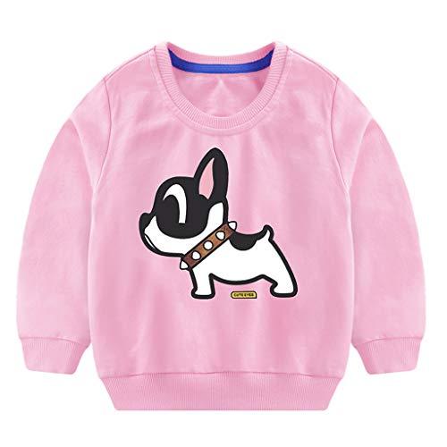DIASTR Baby Mädchen Süße Sweatshirt Pullover, Langes Hülsen T-Shirt Baumwoll Lange Hülsen Reizende Sweatshirt Pullover Kleidung -