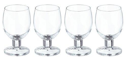 Jamie Oliver Everyday Wine Glass, Transparent, 45 cl, Set of 4