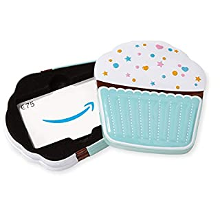 Amazon.de Geschenkkarte in Geschenkbox - 75 EUR (Muffin)