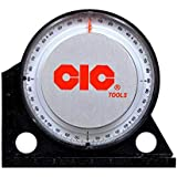 """Electrade CIC Professional Angle Finder with 3"""" Base for Measuring the Angle in any Quadrant"""