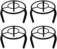 D&V ENGINEERING - Creative in innovation Metal Planter Stand/Flower Pot Stand(19 cm Dia - Set o