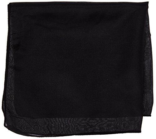 Pañuelo de Seda (30 x 30 cm) Negro