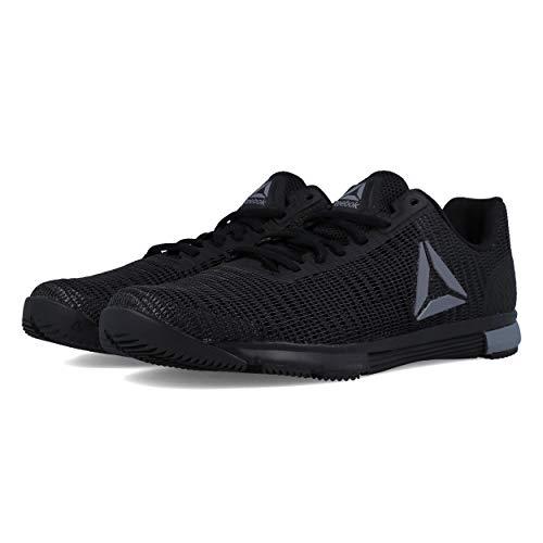 Reebok Herren Speed Tr Flexweave Multisport Indoor Schuhe, Mehrfarbig (Black/Cold Grey 000), 45 EU