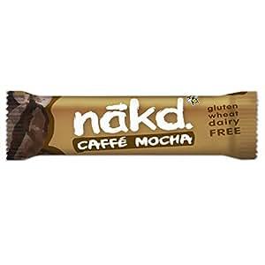 Nakd Caffe Mocha Bar 35 g (Pack of 18)