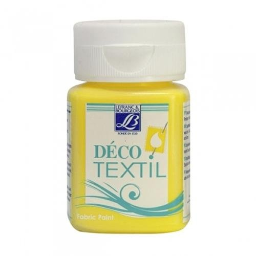 sg-education-lb-211455-l-and-b-textile-acrylic-deco-fabric-paint-50-ml-daffodil