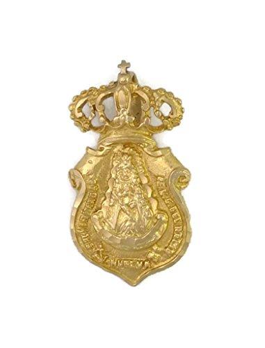 Medalla Virgen del Rocio DE HUELVA J.L-MED-89 Oro 18K