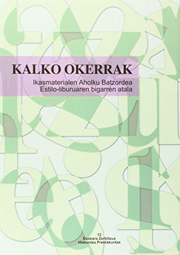 Kalko Okerrak (Euskara-Zerbitzua Ikasmate)