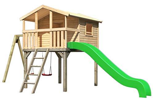 Akubi Karibu Stelzenhaus Benjamin Set L Spielhaus Kletterturm Spielturm